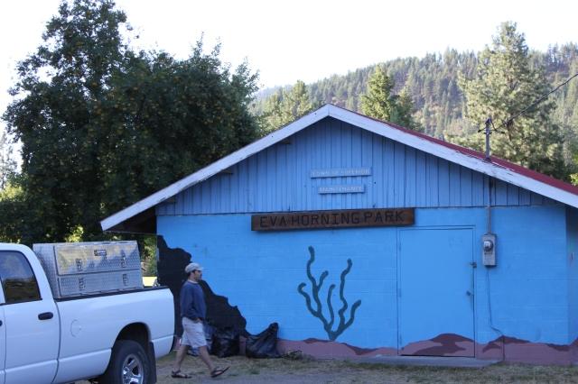 Eva Horning Park Maintenance and Restrooms